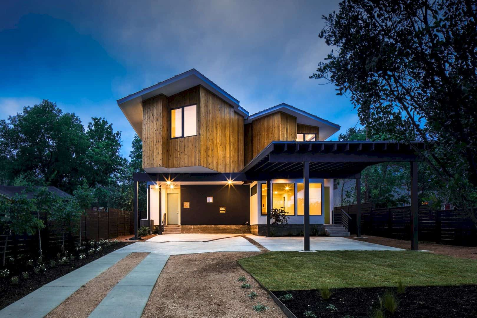 Johanna Du Plx An Urban Infill Project With Duplex Typology In Austin 13