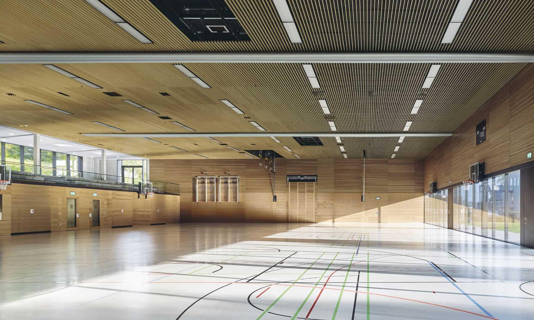 Schönberghalle A Multifunctional Gymnasium In Swabian Alps 2