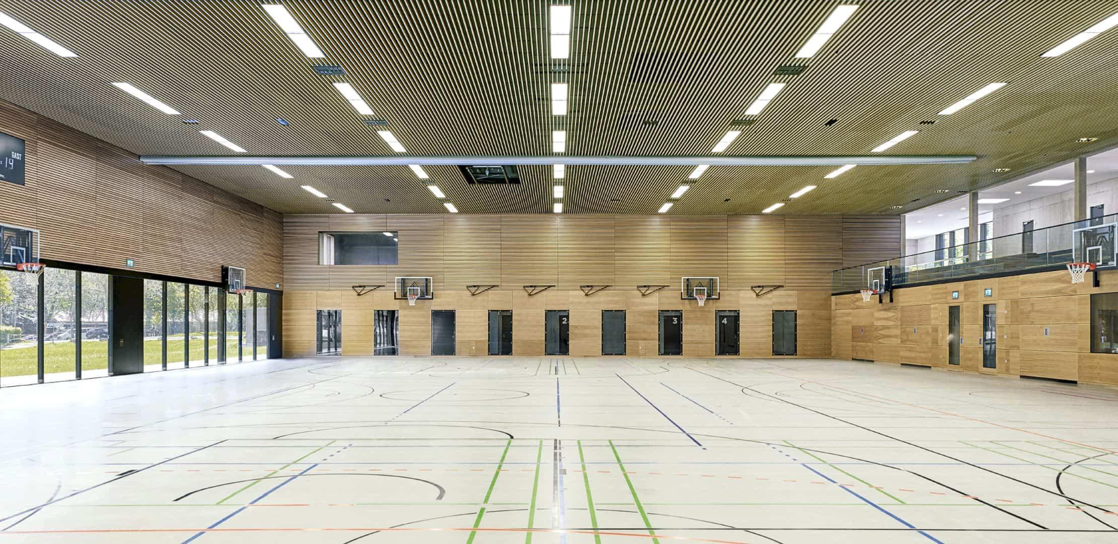 Schönberghalle A Multifunctional Gymnasium In Swabian Alps 3