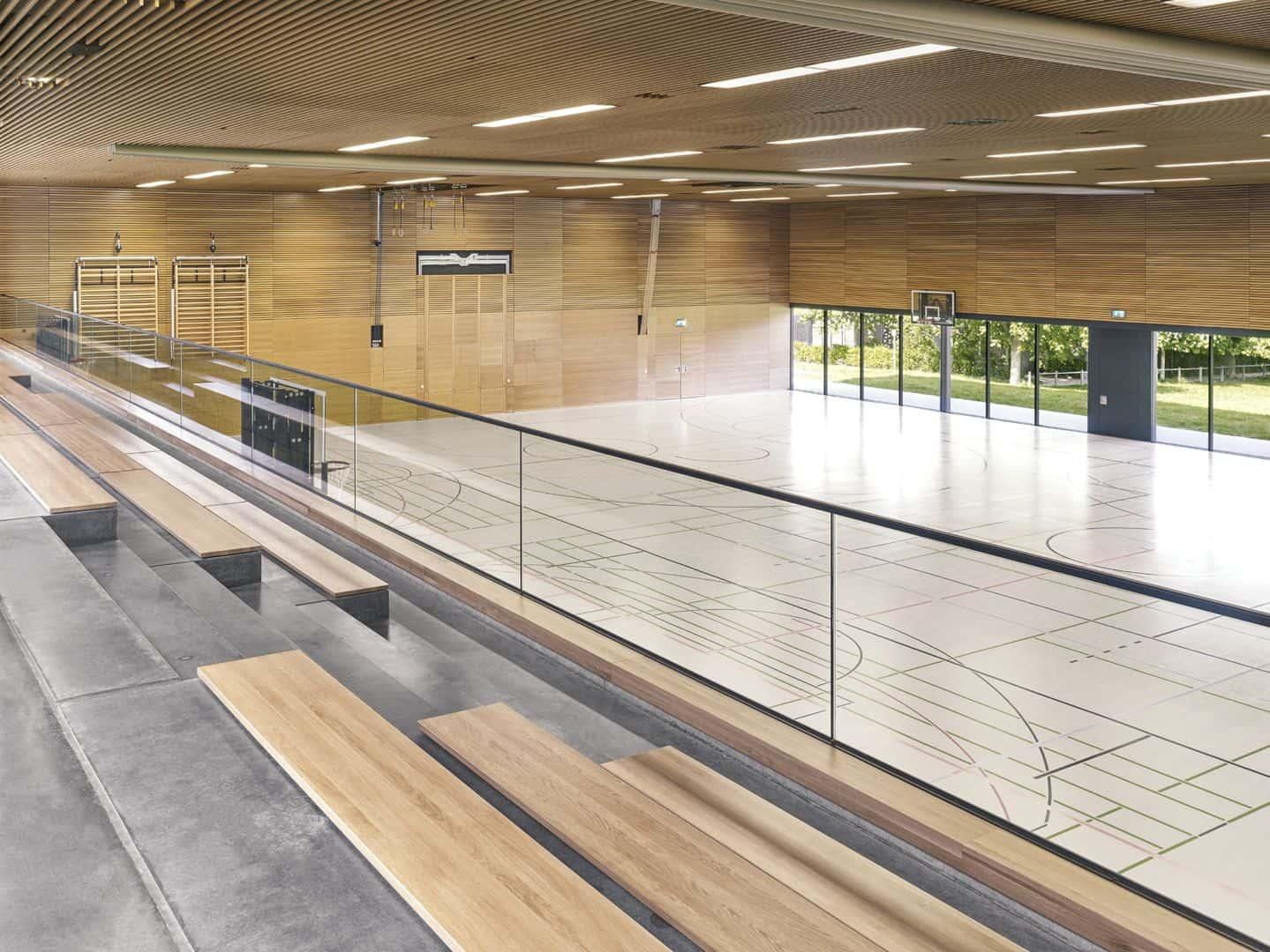 Schönberghalle A Multifunctional Gymnasium In Swabian Alps 4