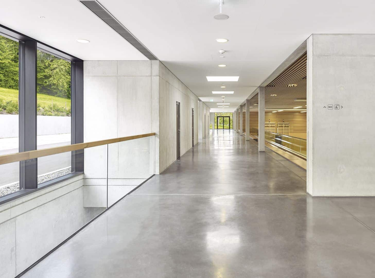 Schönberghalle A Multifunctional Gymnasium In Swabian Alps 6