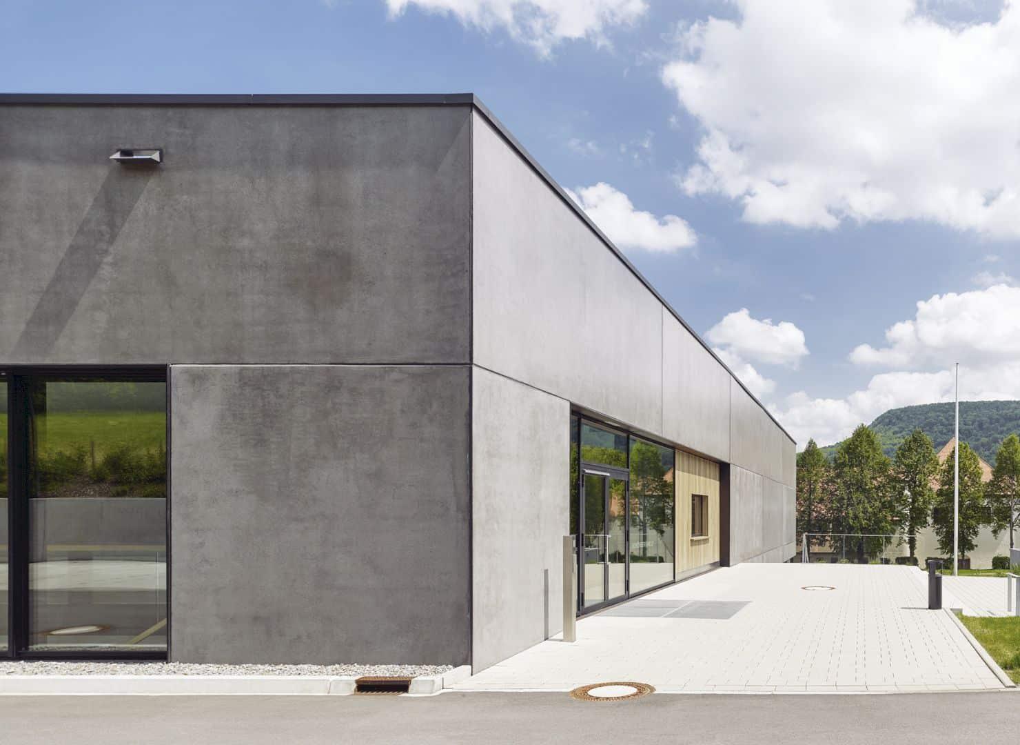 Schönberghalle A Multifunctional Gymnasium In Swabian Alps 7