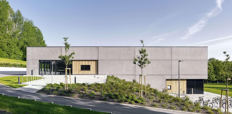 Schönberghalle A Multifunctional Gymnasium In Swabian Alps 8
