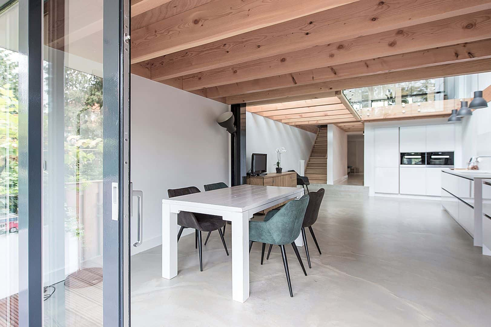 The Renovation And Extension Of A Row House In Overveen 5