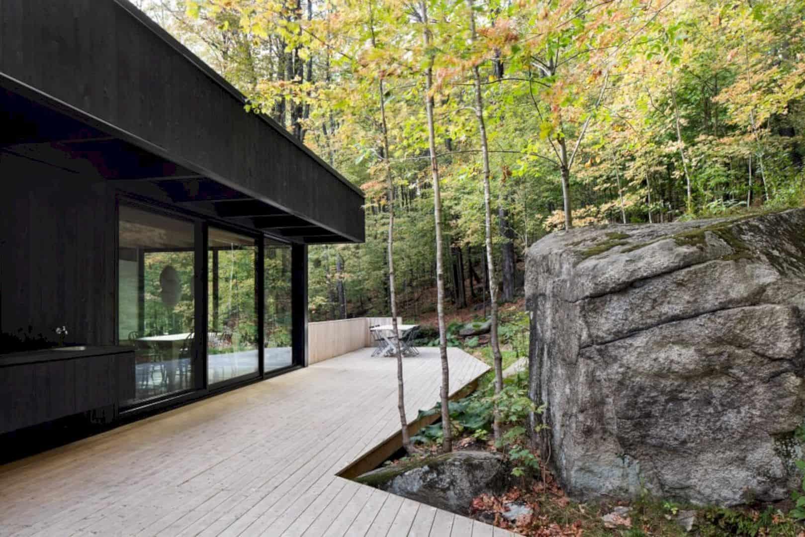 The Rock A Black House On A Hillside 2