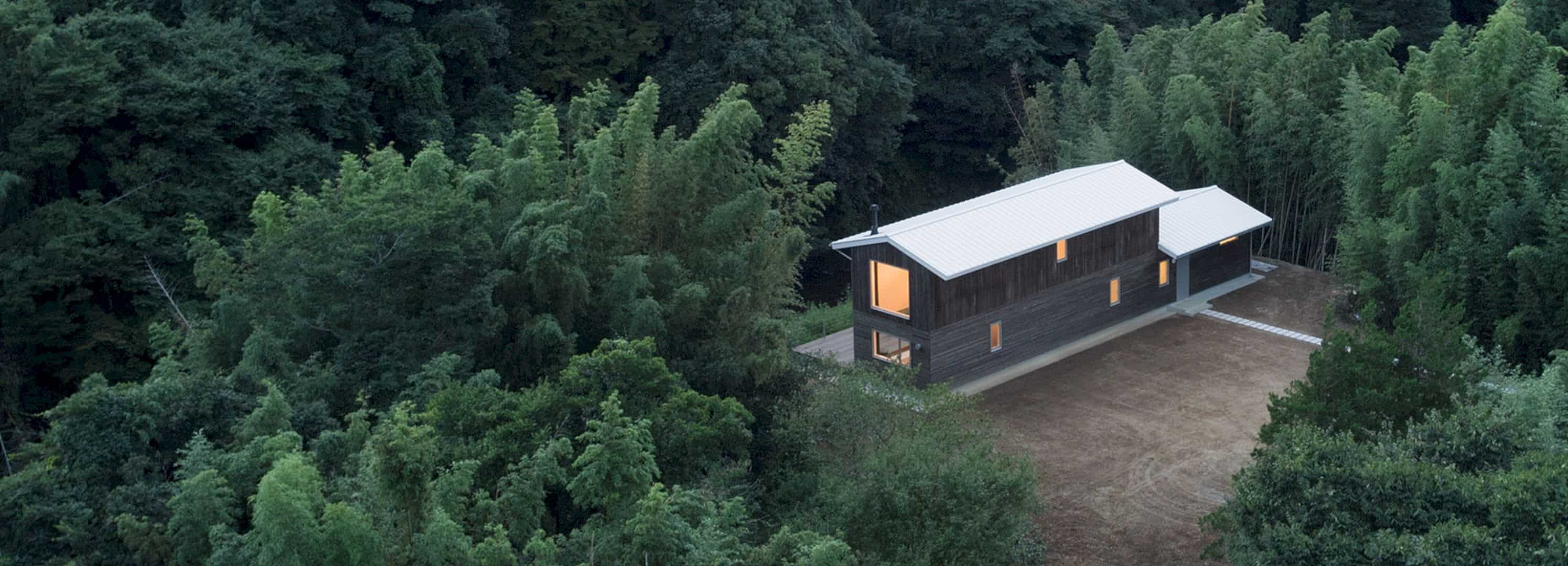 A Wooden House Surrounded By Nature In Chiba 10