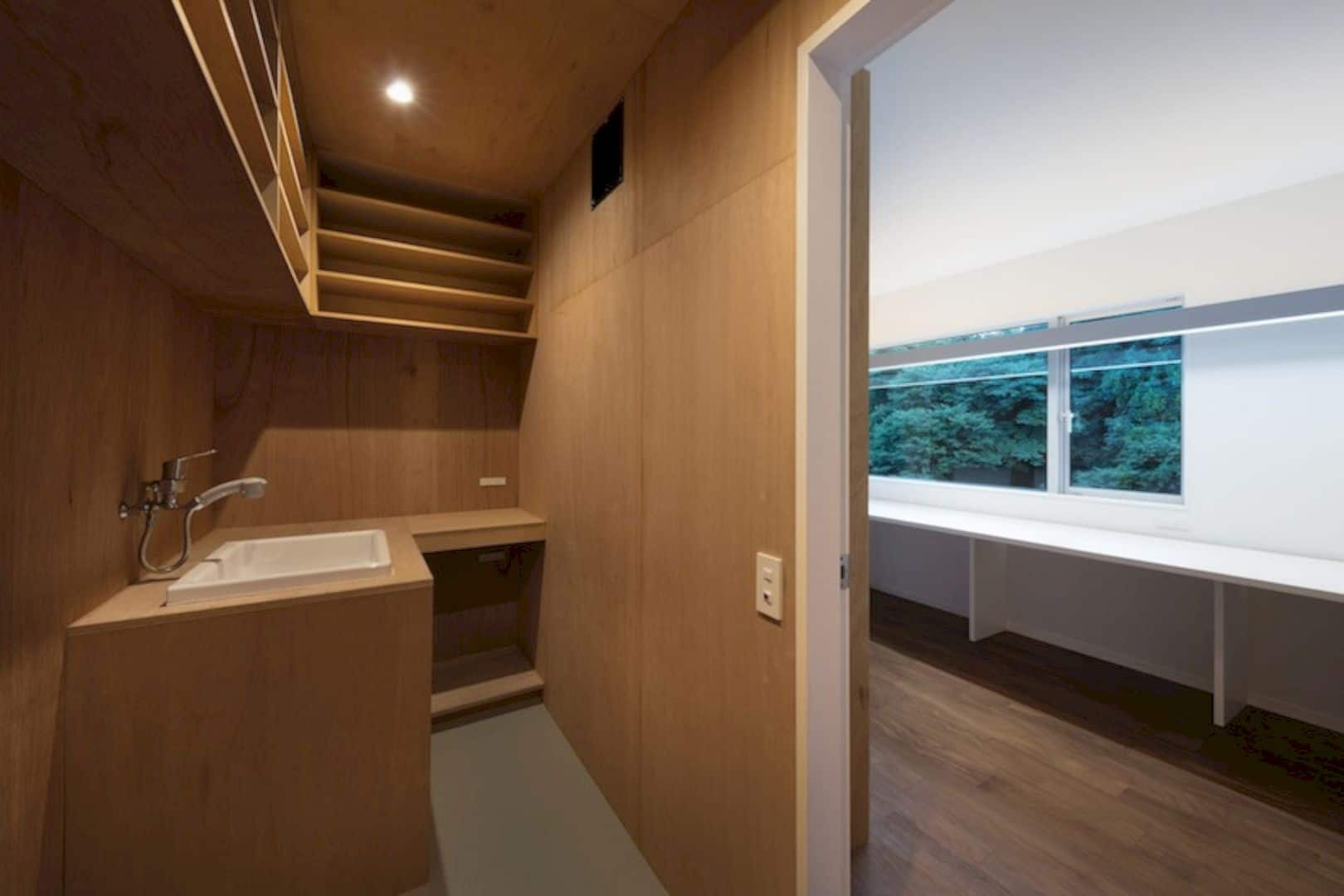A Wooden House Surrounded By Nature In Chiba 2
