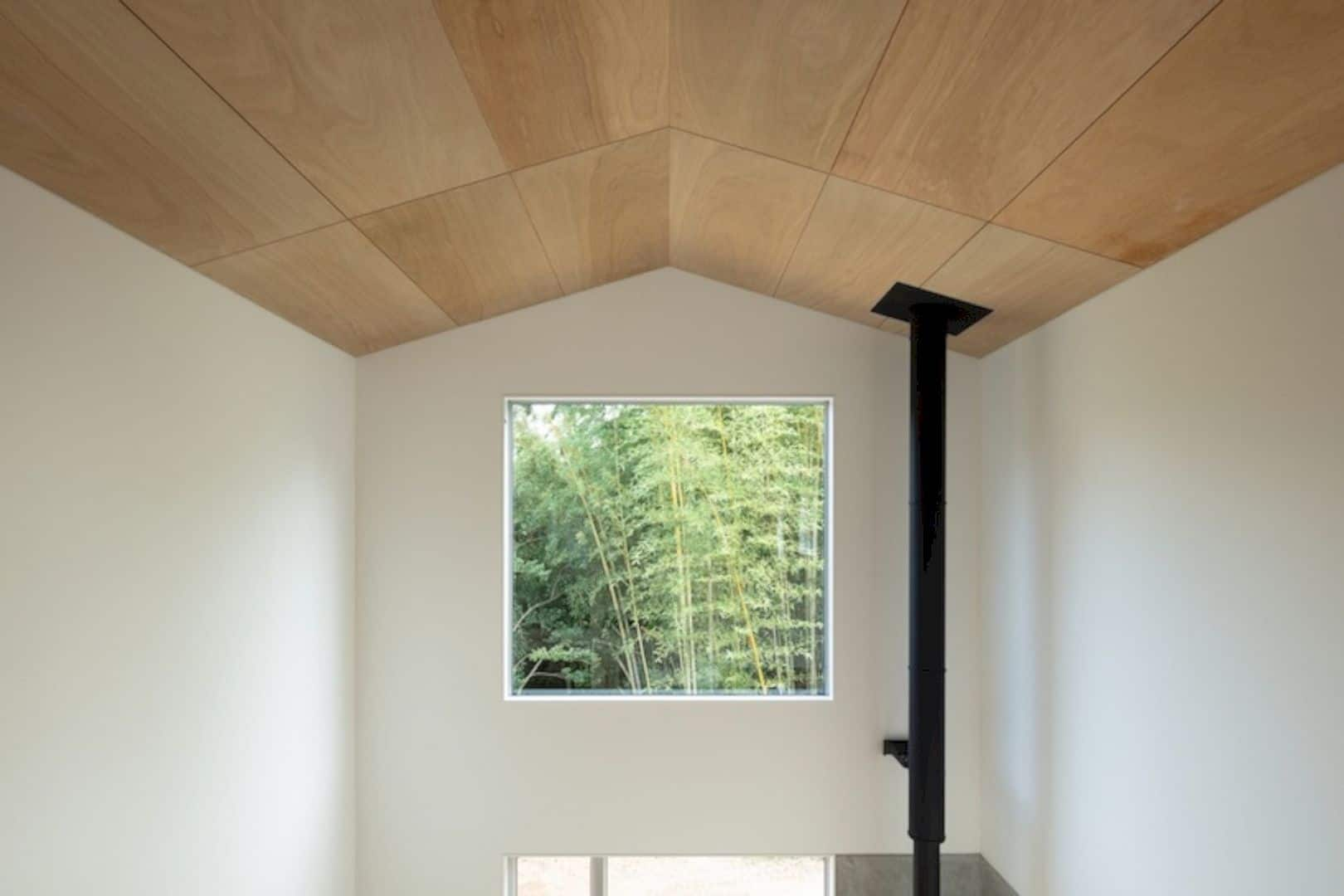 A Wooden House Surrounded By Nature In Chiba 6