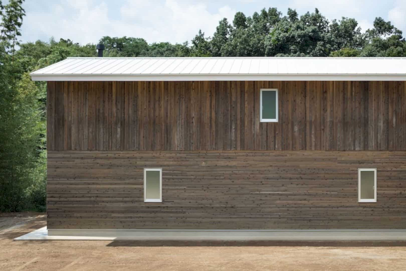 A Wooden House Surrounded By Nature In Chiba 9