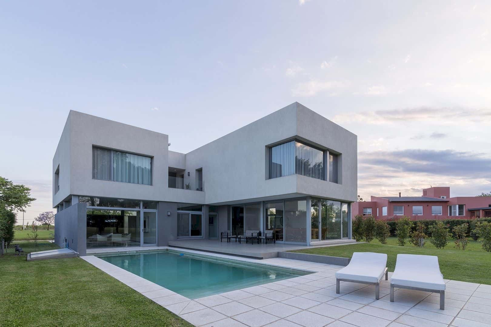 House In El Paso Enhancing The Relationship Inside With The Surrounding Landscape 8