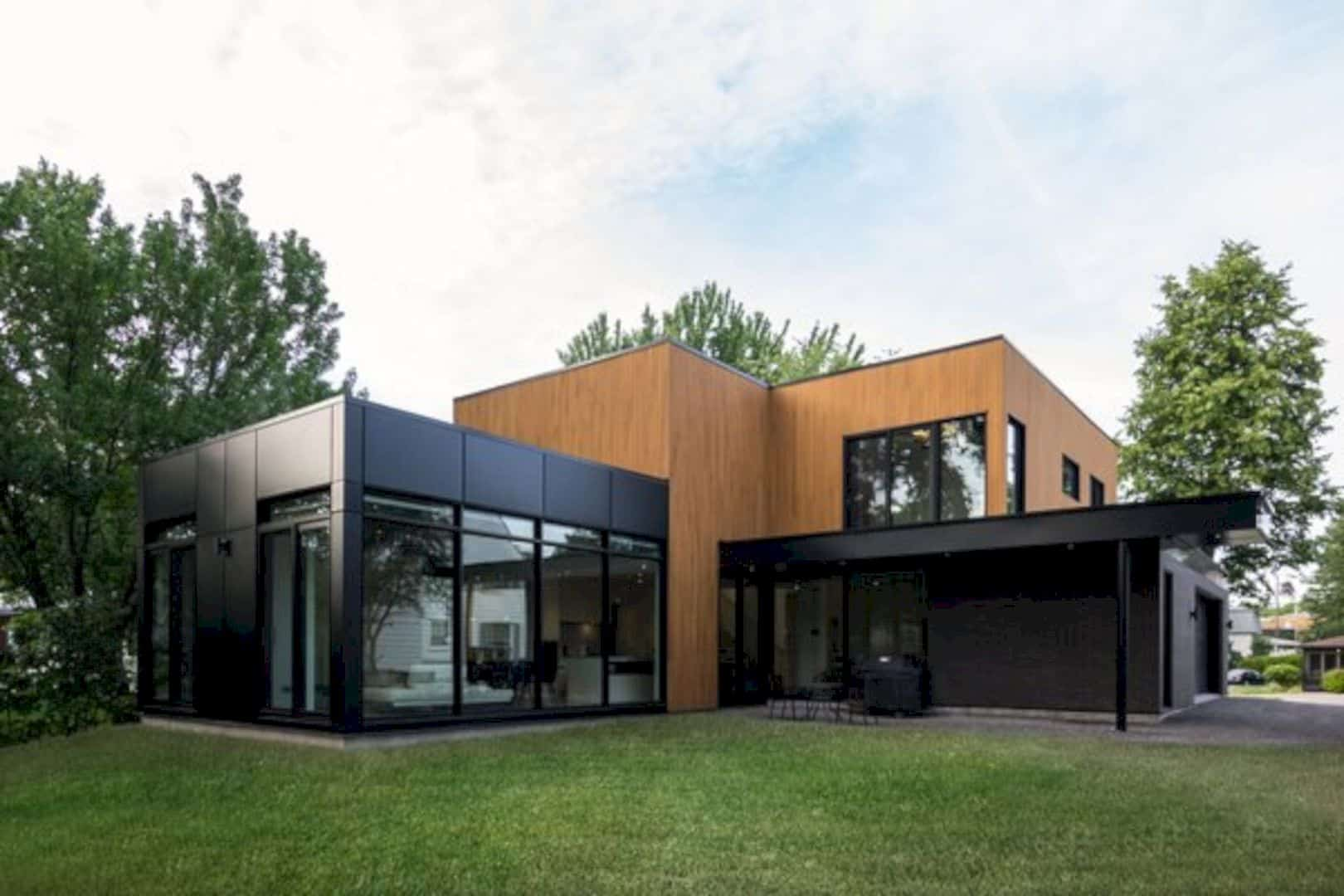 Oak Residence A Modern And Minimalist Home With Natural Materials 7
