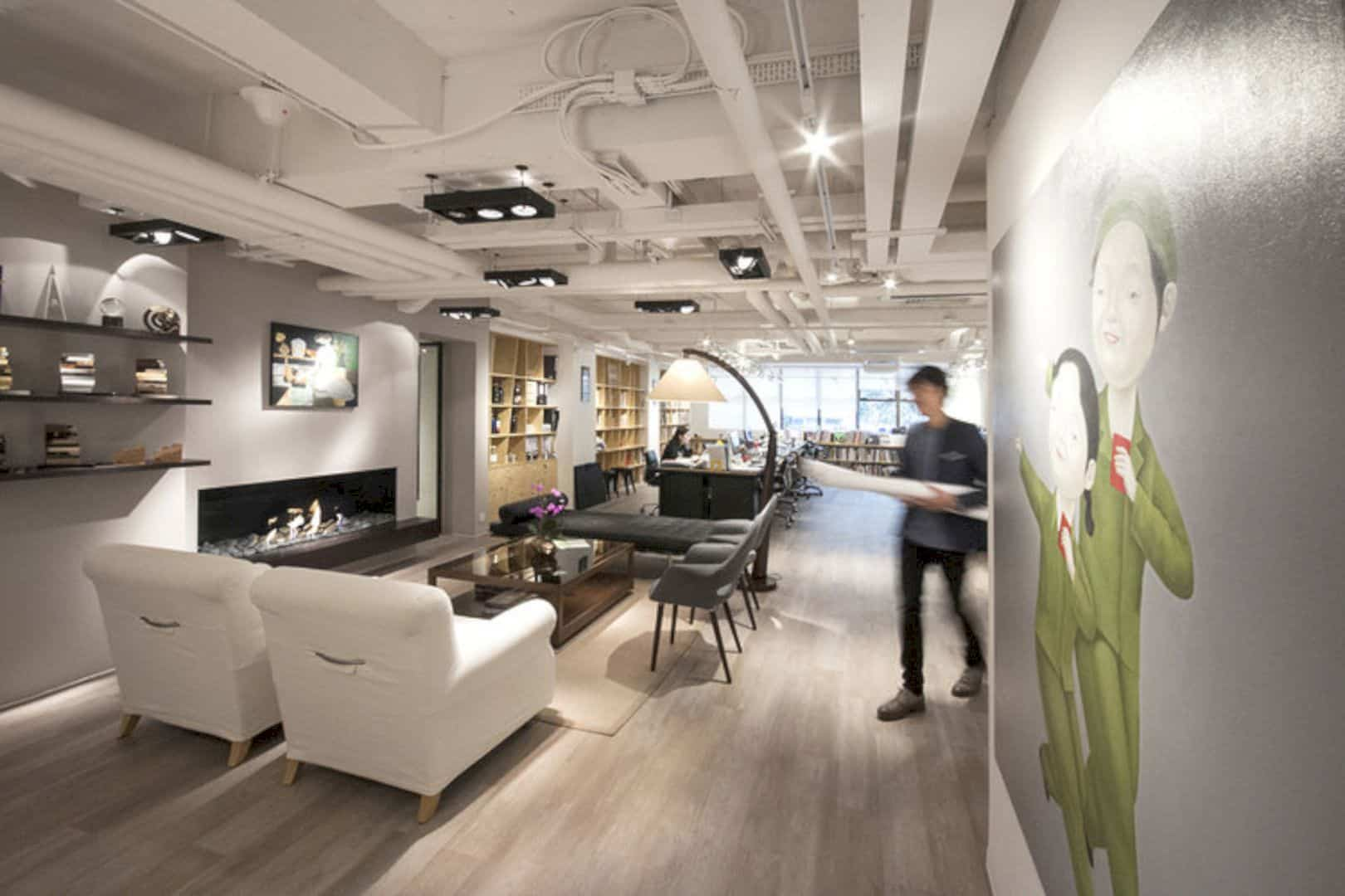 Cheil Hong Kong A Generous Studio Like Workspace Futurist Architecture