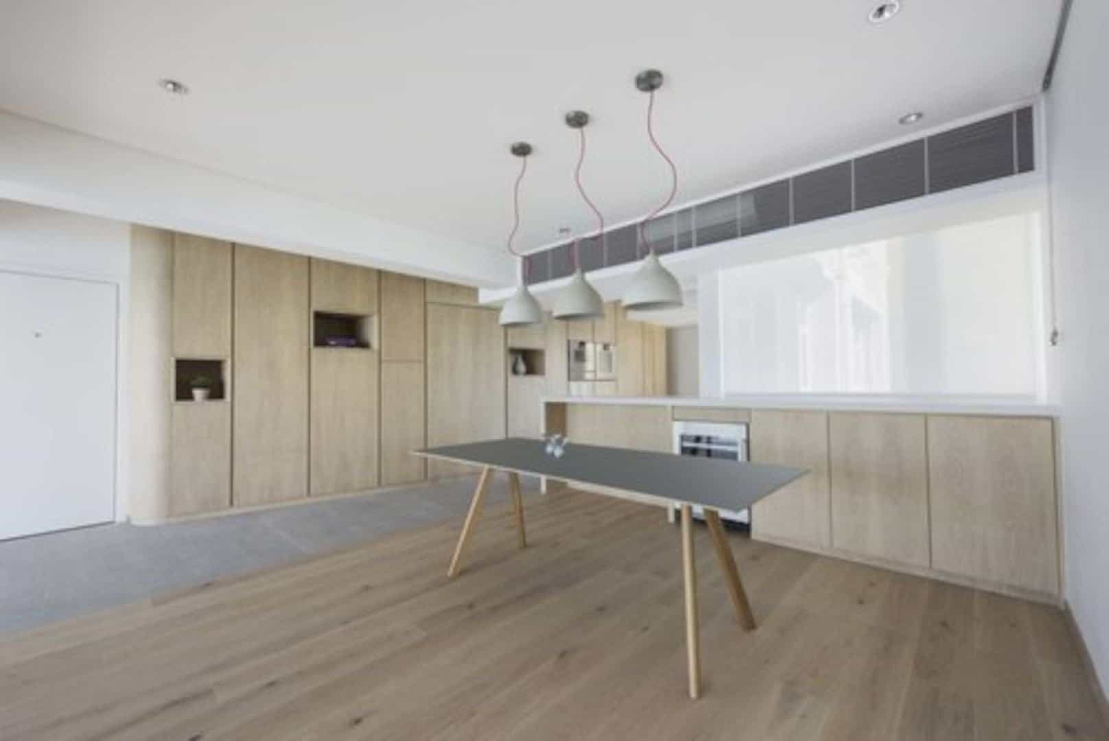 Cabinet Of Curiosities Turning A Dark Cellular Layout Into Open Light Filled Living Place 2