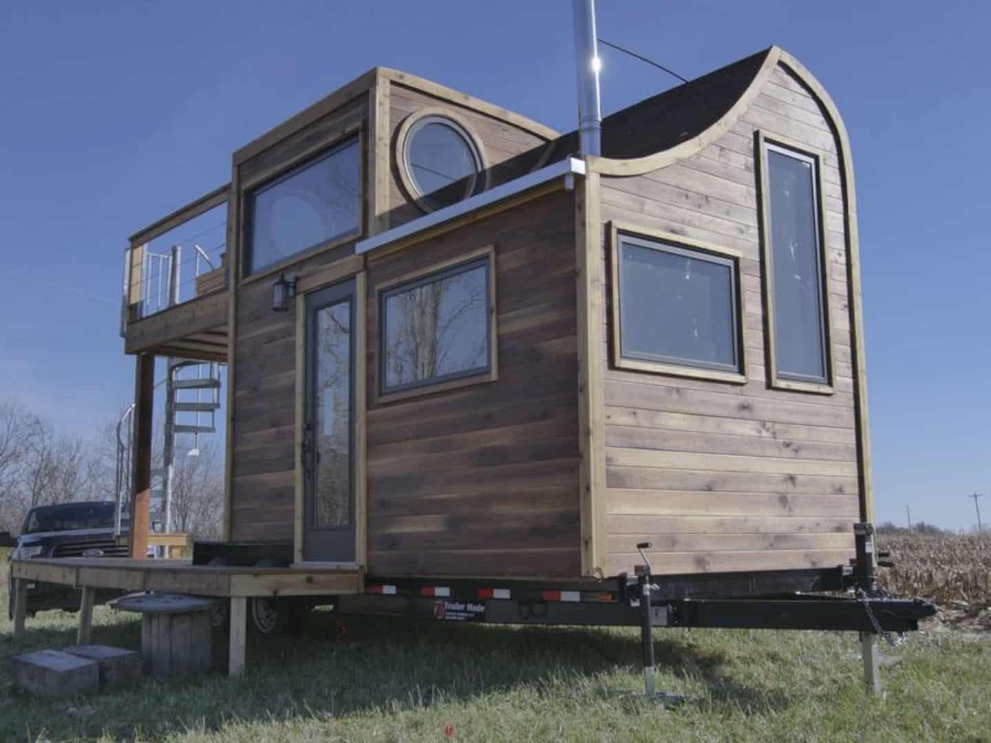 Honey On The Rock A Peculiar Tiny House With A Great Craftmanship 5