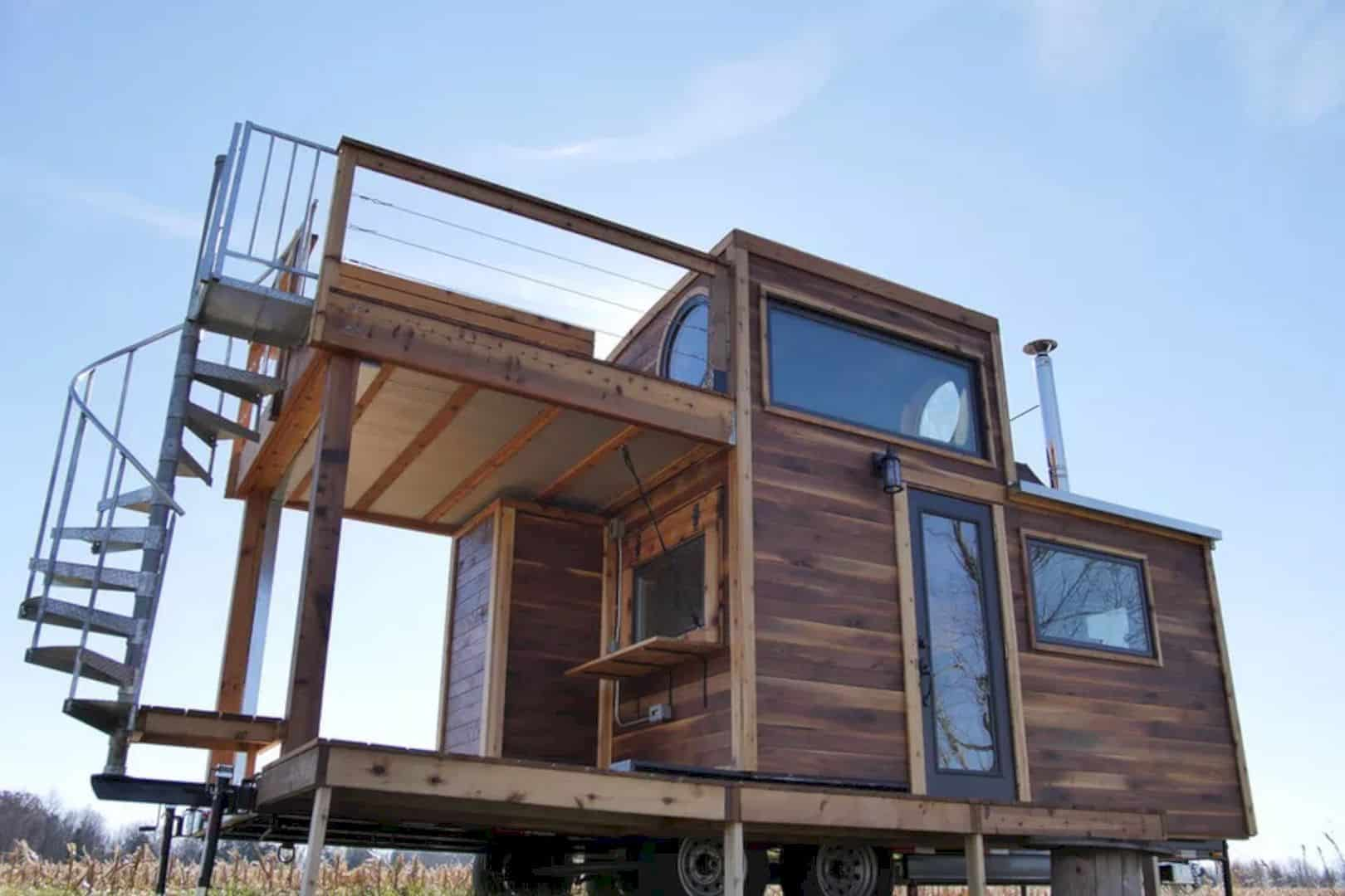 Honey On The Rock A Peculiar Tiny House With A Great Craftsmanship