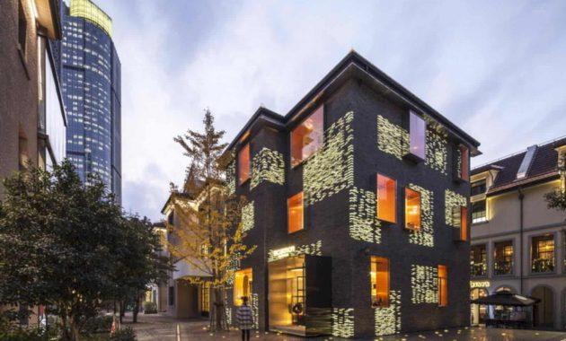 no  8 building  fa u00e7ade renovation by atelier archmixing