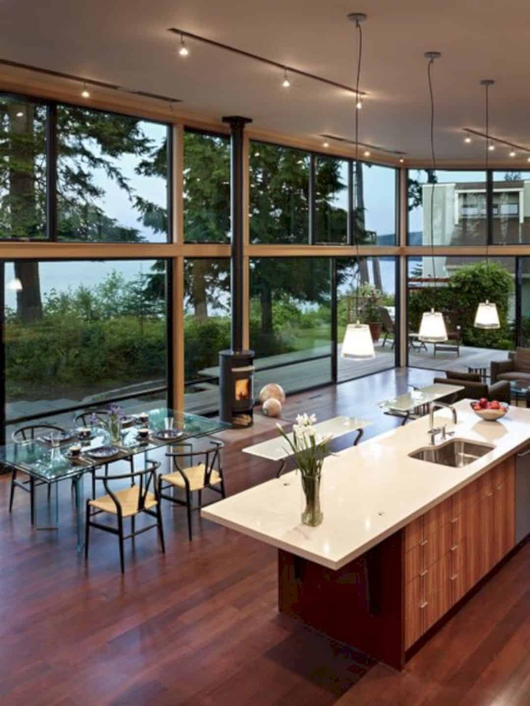 Port Ludlow House A Compact Modern House On A Wooded Waterfront Property 2