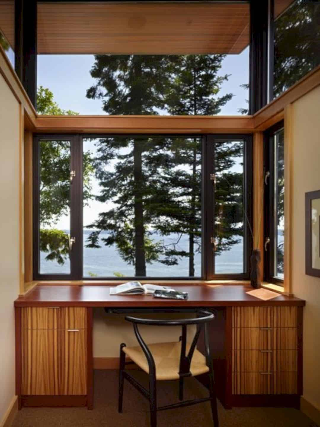 Port Ludlow House A Compact Modern House On A Wooded Waterfront Property 7