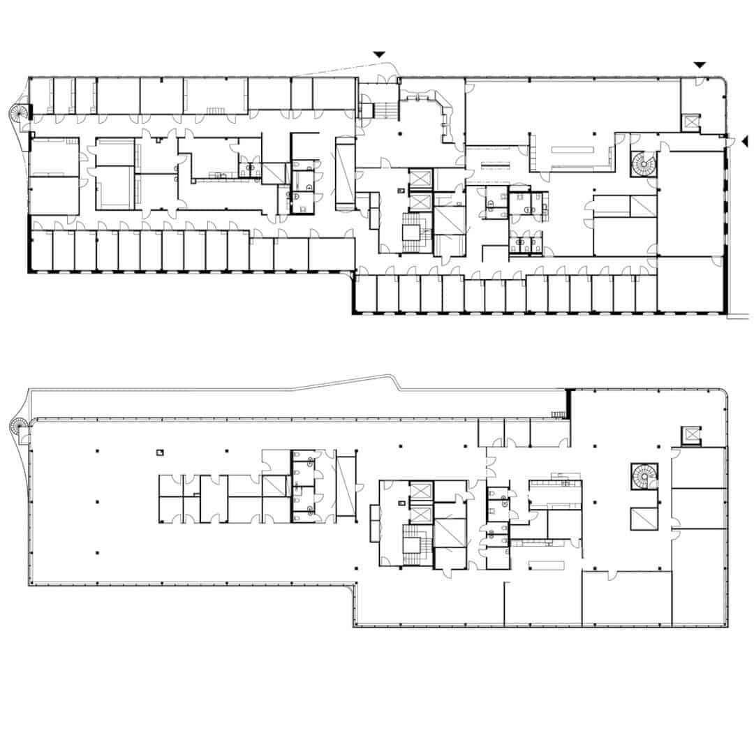 The Office Floors Inside Atlas Garden Can Be Used By Dividing Them Into  Four Leasable Units. It Relates To The Entrances, Wet Group Placement, And  Also Fire ...