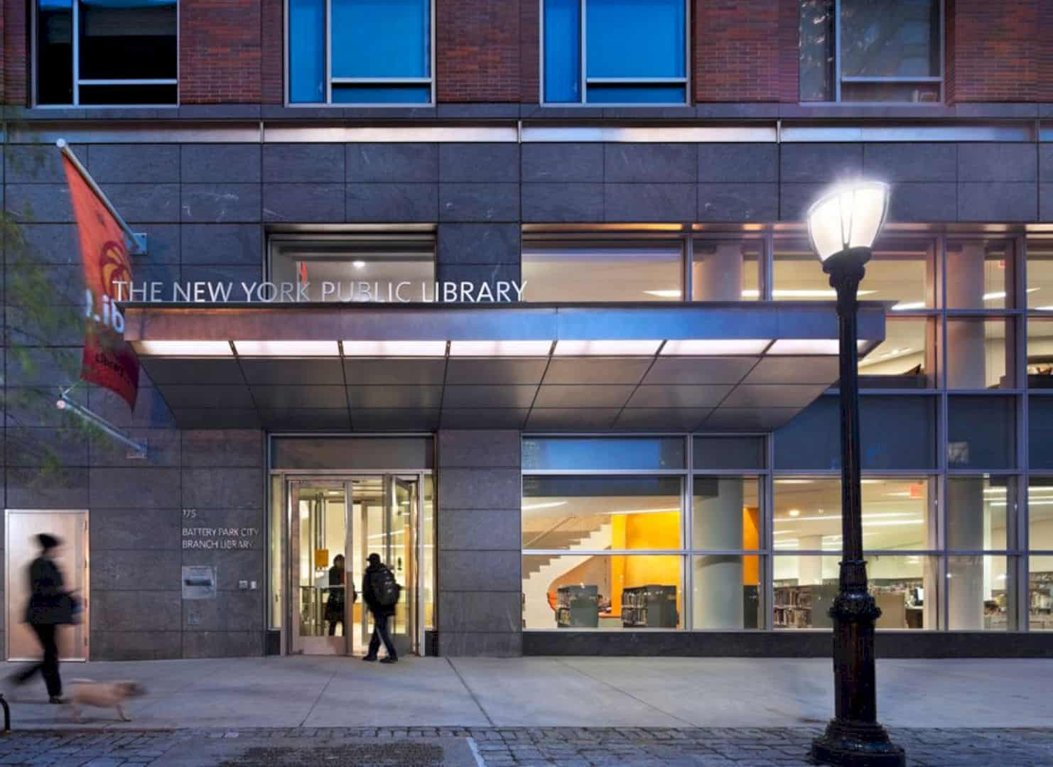 New York Public Library: A New Branch Library with Visibility Design