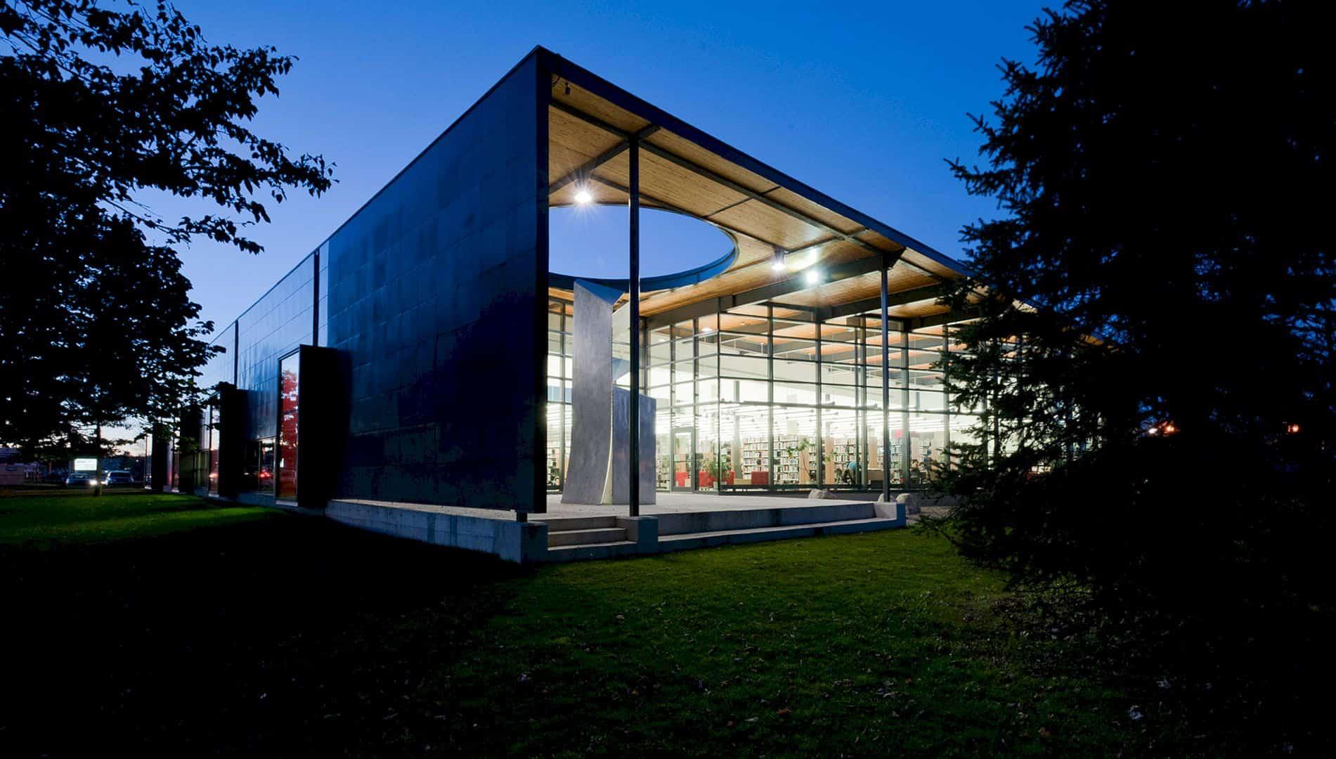 Bibliothèque Félix Leclerc An Extension Project To Form Dialogue With The Urban Landscape 5