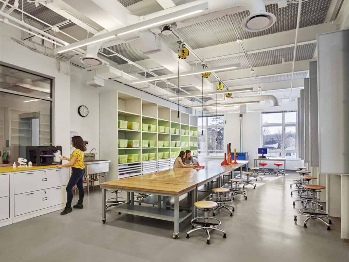 Germantown Academy Innovation Lab And Makerspace Featuring 21st Century Learning Environment 1