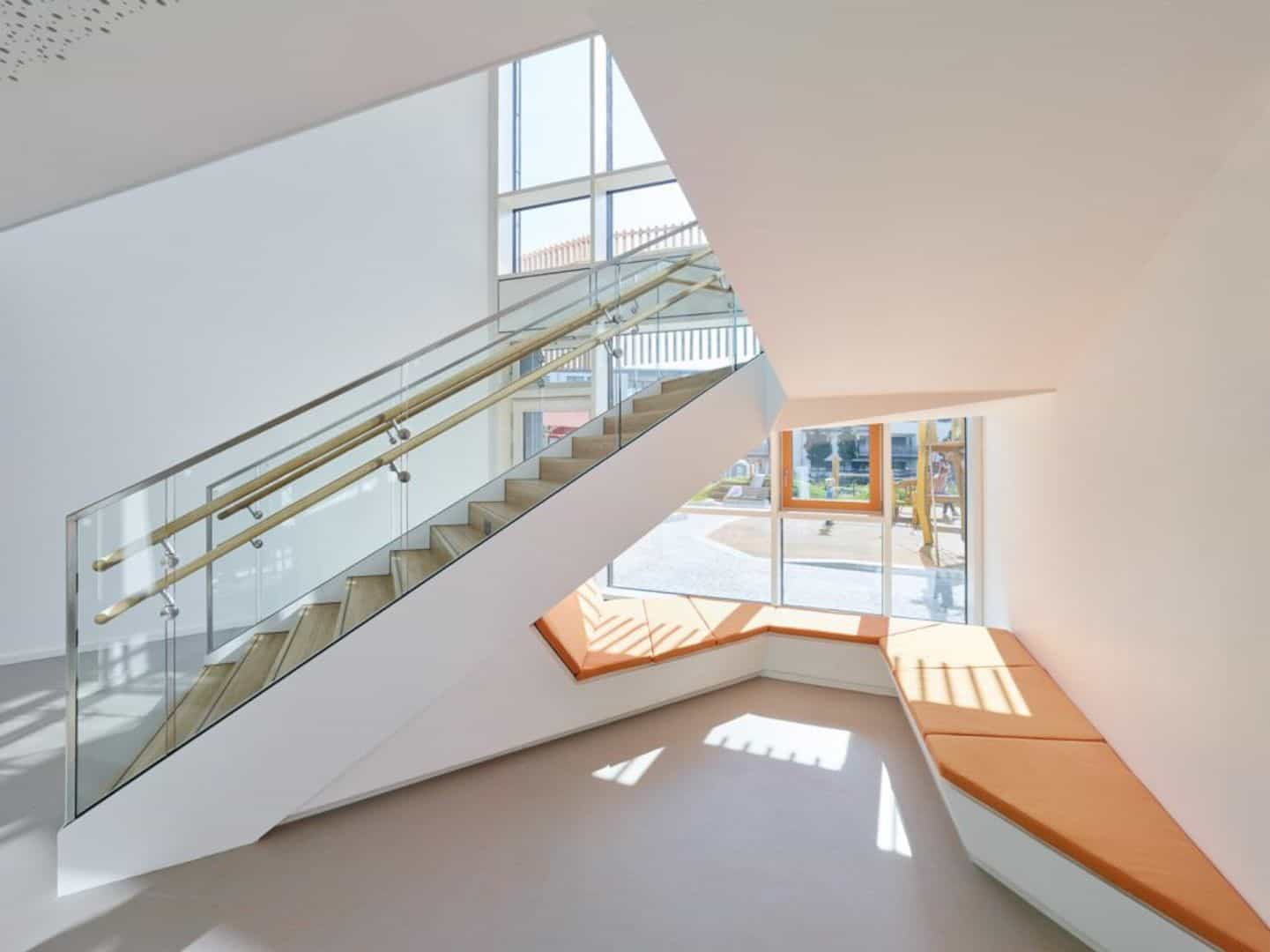 Koenigsblick Kindergarten A Childcare Center Incorporating Park Concept 1