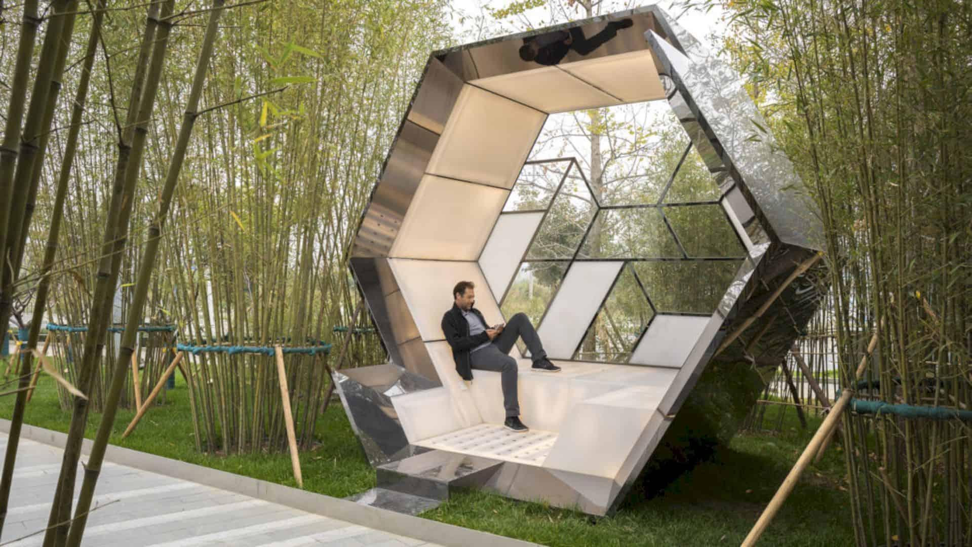 Poly Future City The Development Of Futuristic Nature In
