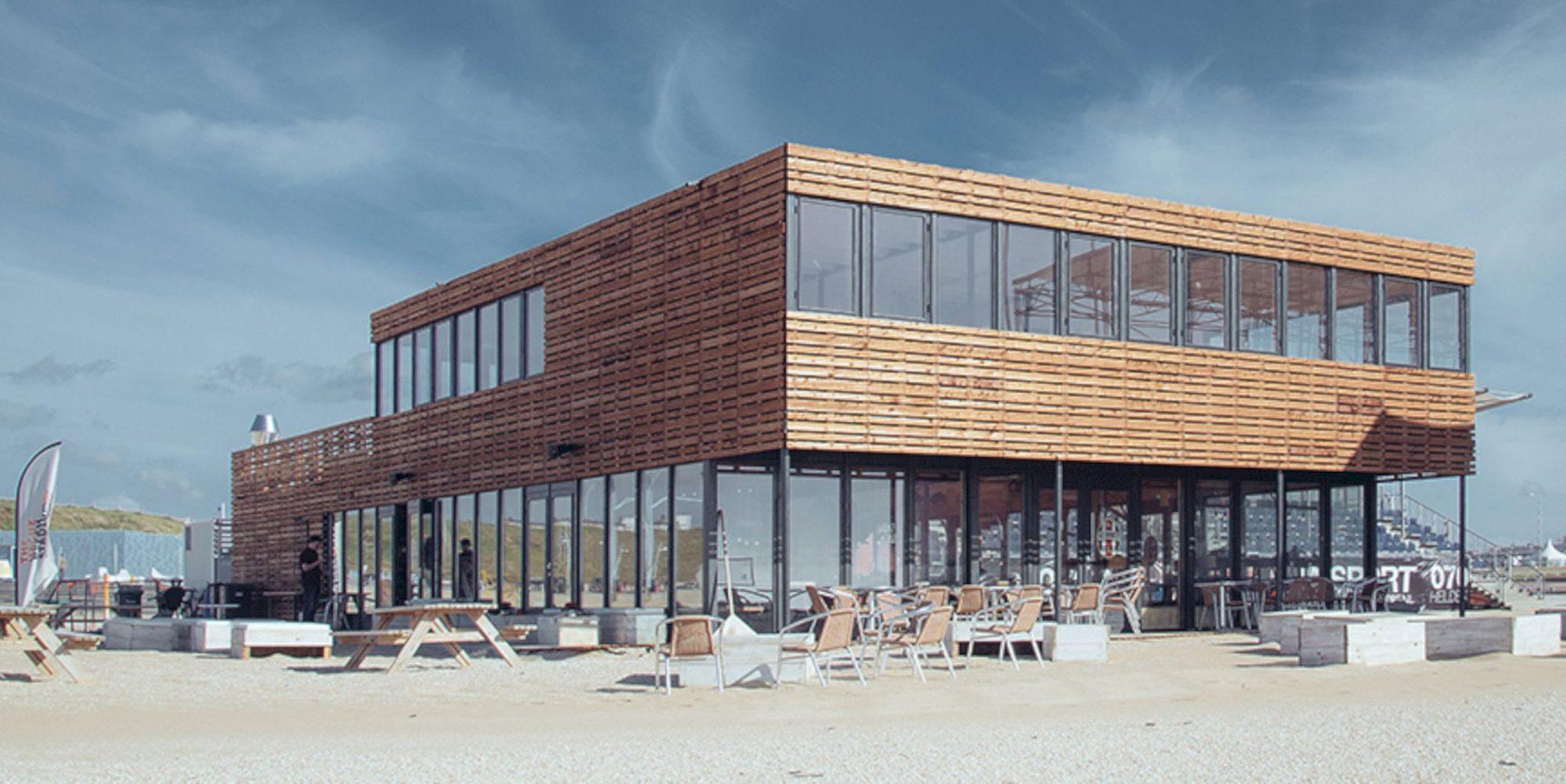 Beach Pavilion: A Brand New Sports Pavilion for The Hague Beach Stadium
