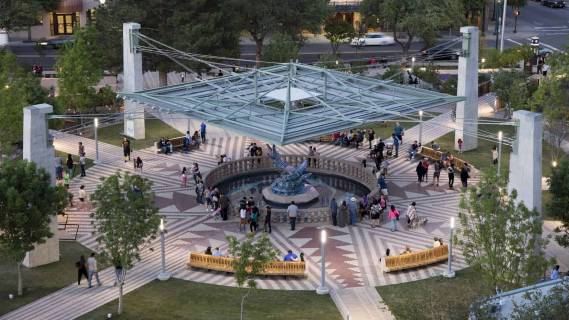 San Jacinto Plaza: An Update of 100-Year-Old Park with Historic Identity