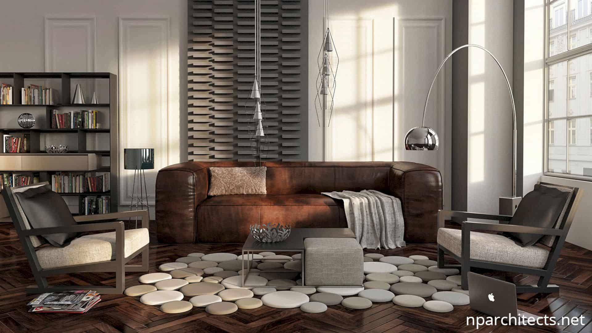 Modern Apartment Interior By Nparchitects 6