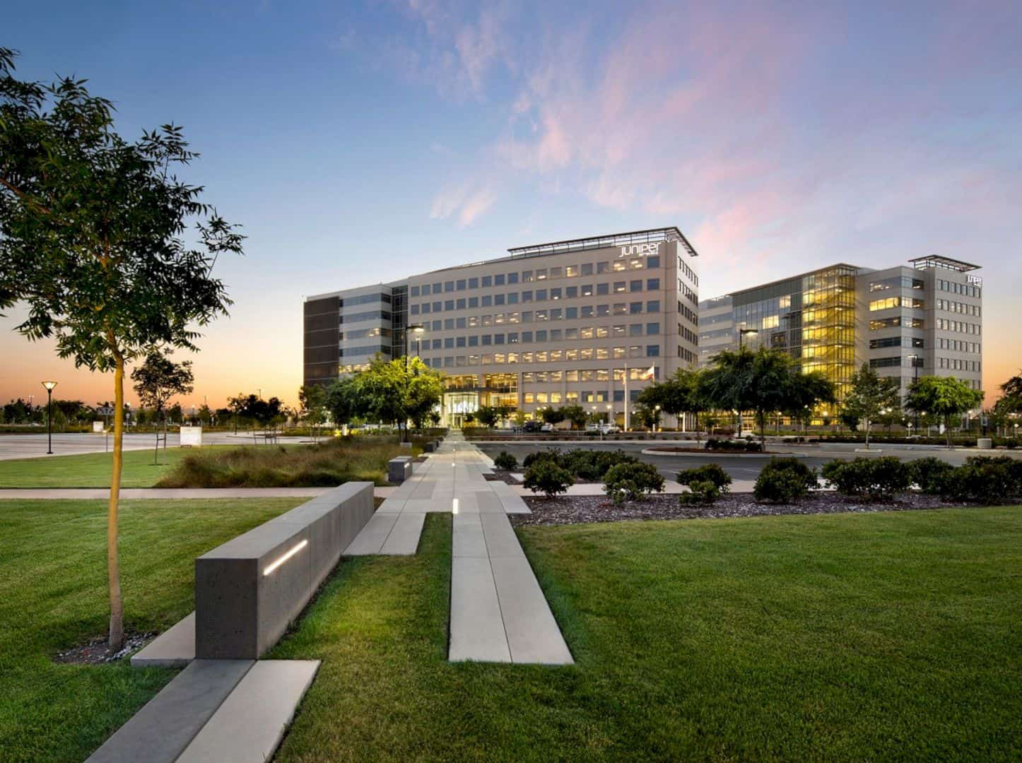 Juniper Networks, Inc. Headquarters Campus: An Engineering-Driven Company Supporting Rapid Change and Collaboration