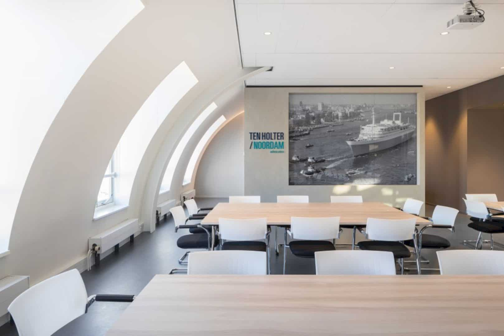Ten Holter Noordam Advocaten: A Contemporary and Communicative Work Environment Adopting Pragmatic Design