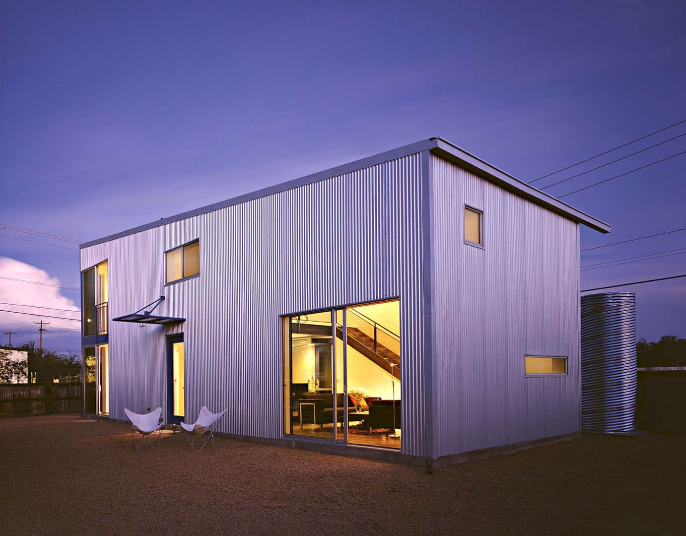Barrio Metalico Nine Freestanding Houses Within Millvilles Industrial And Residential Environment 9