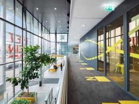 Booking Com Office A Vibrant Work Environment And Restaurant 8