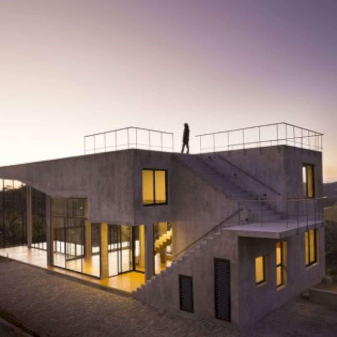 Casa No Cerrado A Modern House On The Serra Da Moedas Foothills 12