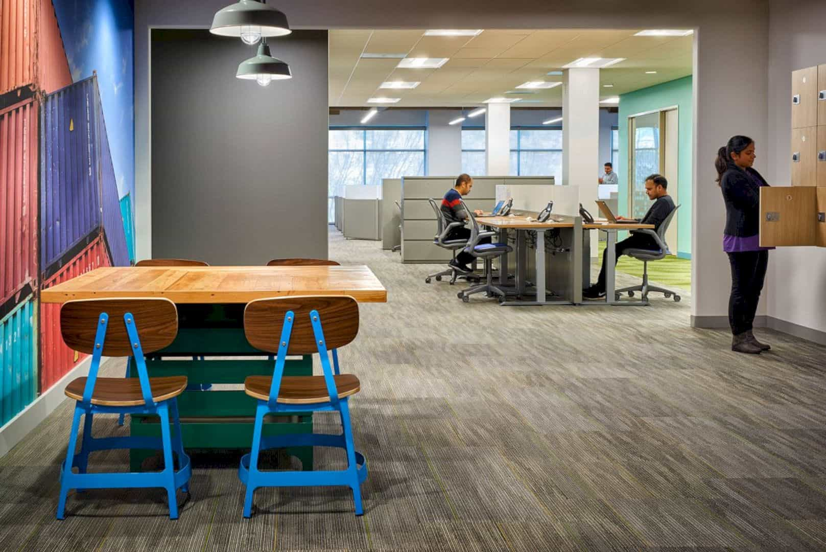 Cisco Systems Inc Building 11 A Diverse Office Landscape That Improves Capacity And Spatial Efficiency 5