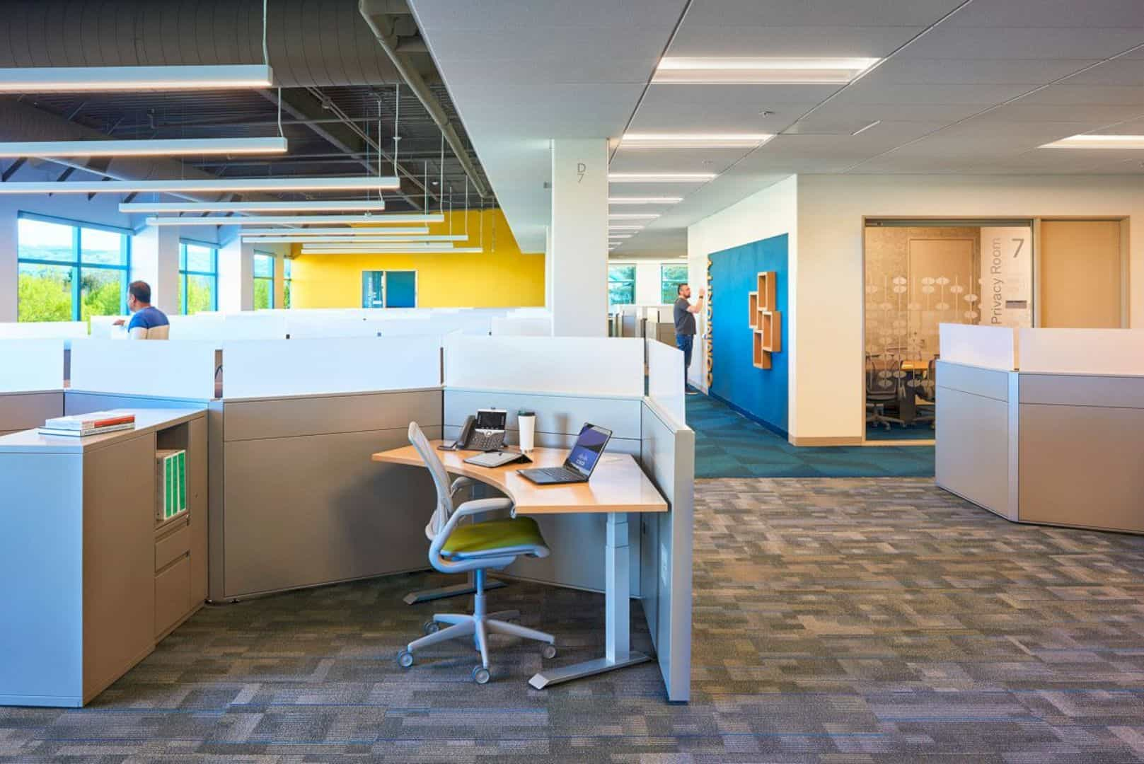 Cisco Systems Inc Building 11 A Diverse Office Landscape That Improves Capacity And Spatial Efficiency 7