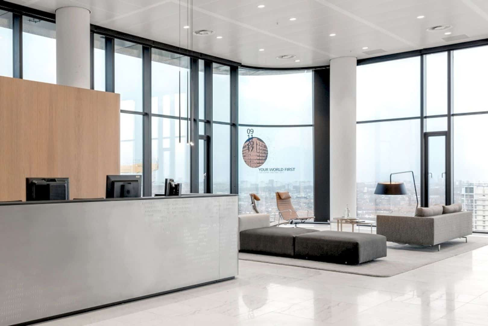 Cms Amsterdam A Warm Natural Base Office Design Merged With Curves And Transparency 16
