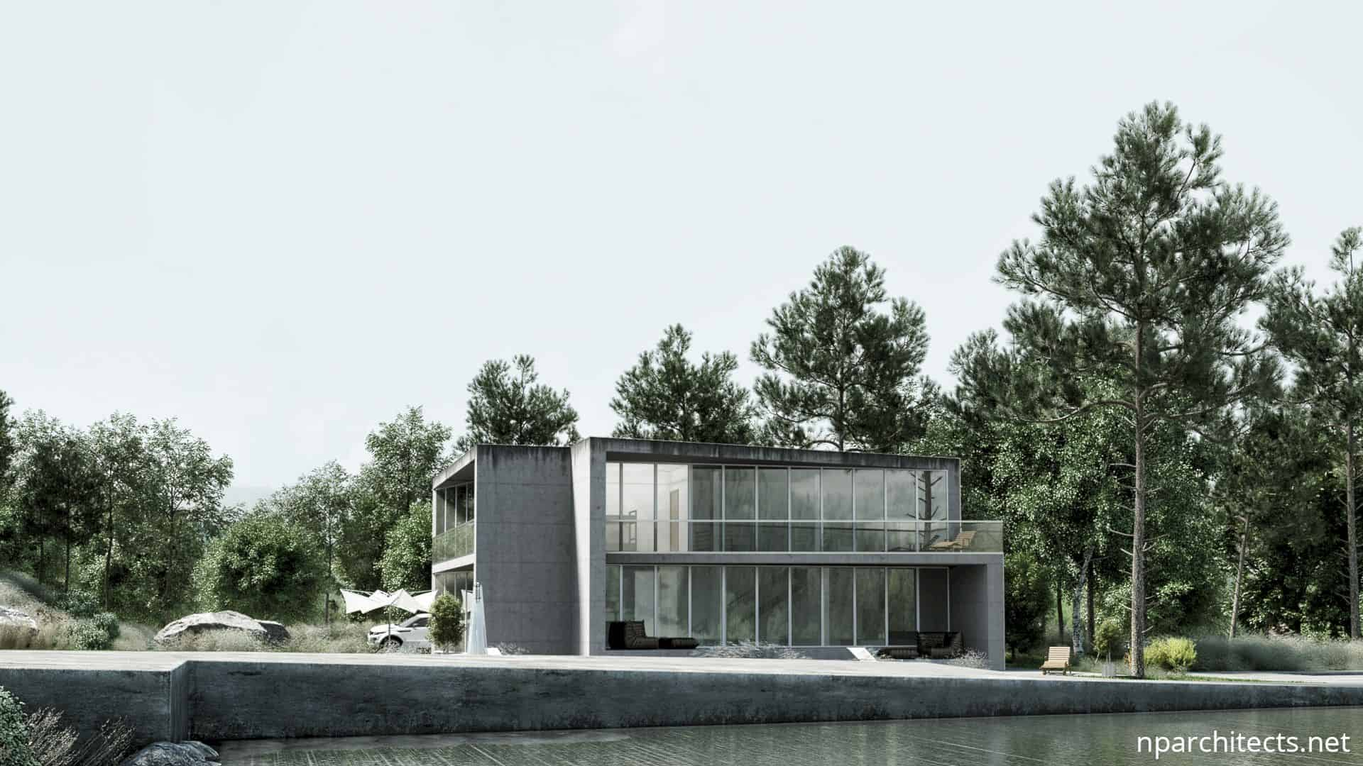 Crease House A Modern Holiday Home In A Completely Natural Environment 3