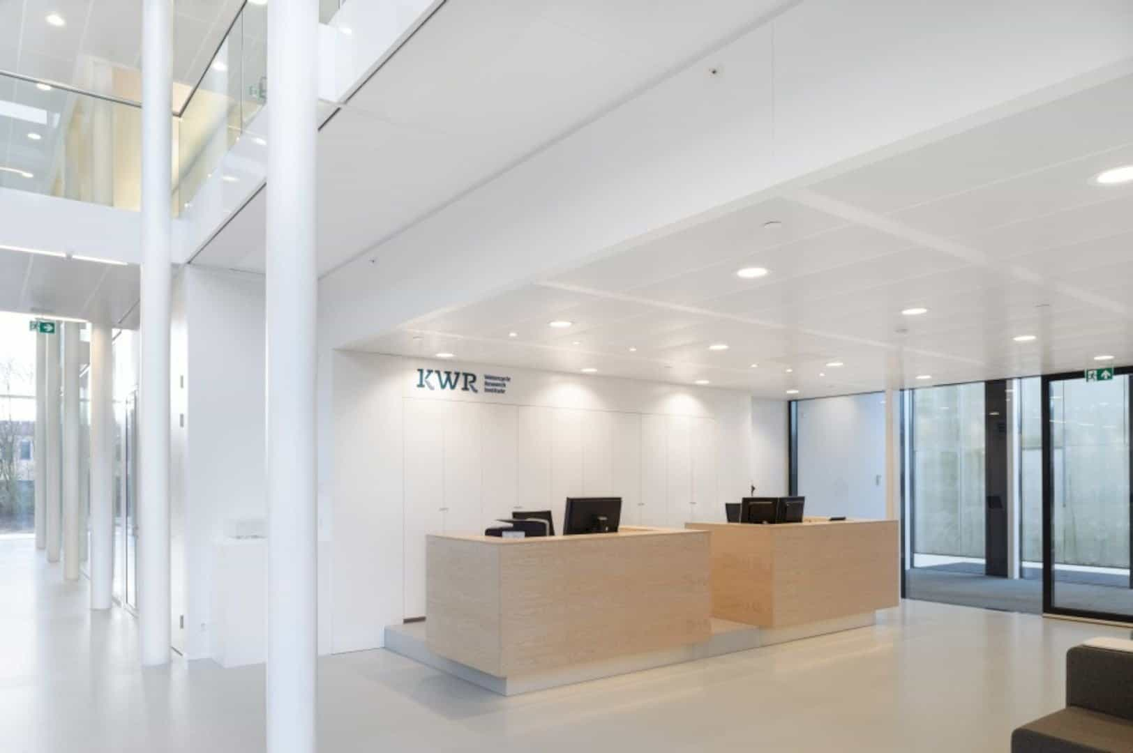 Kwr Transparent Office Interior Reflecting Kwrs Technical And Scientific Process 10