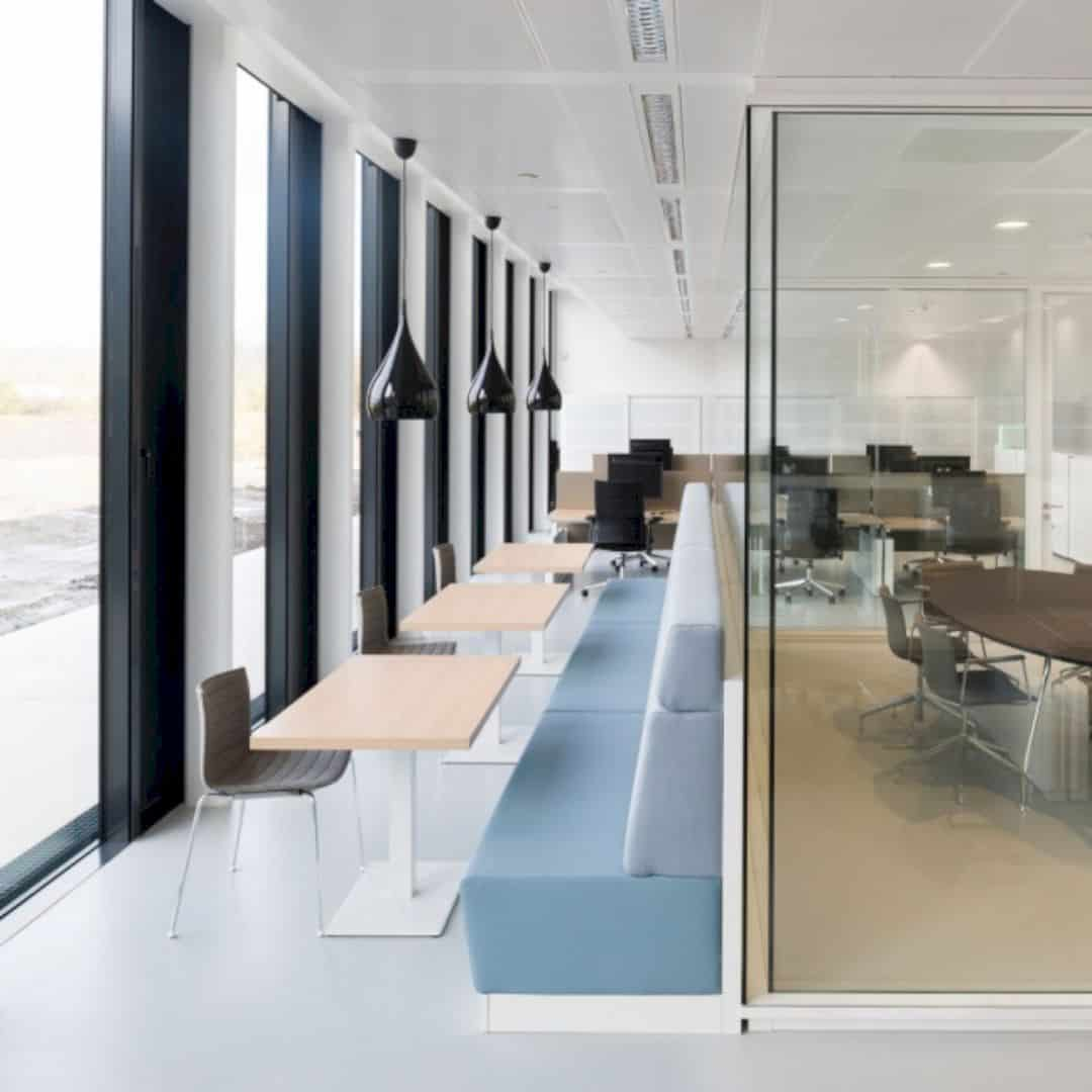 Kwr Transparent Office Interior Reflecting Kwrs Technical And Scientific Process 6