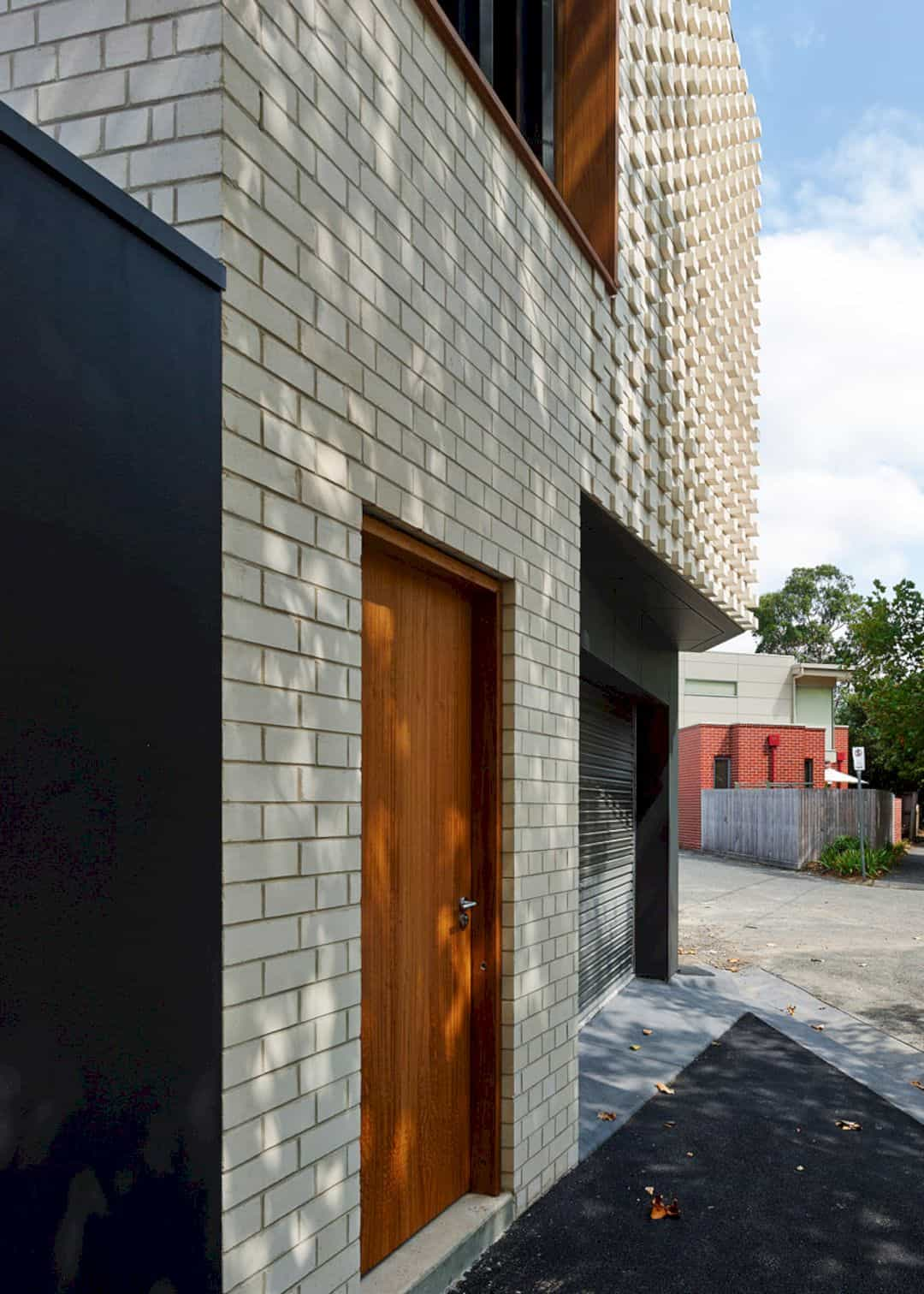 Little Brick Studio A Tight Space Residence That Engages At The Urban Scale Of Abbotsfords Busy Street 12