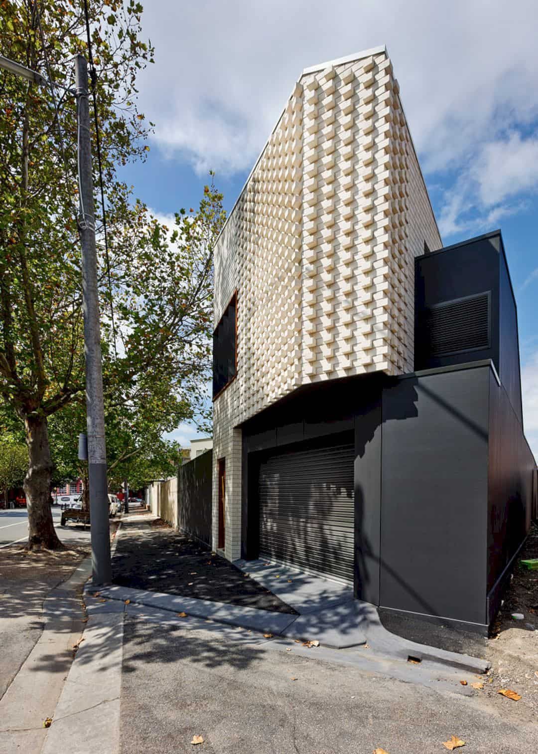 Little Brick Studio A Tight Space Residence That Engages At The Urban Scale Of Abbotsfords Busy Street 17