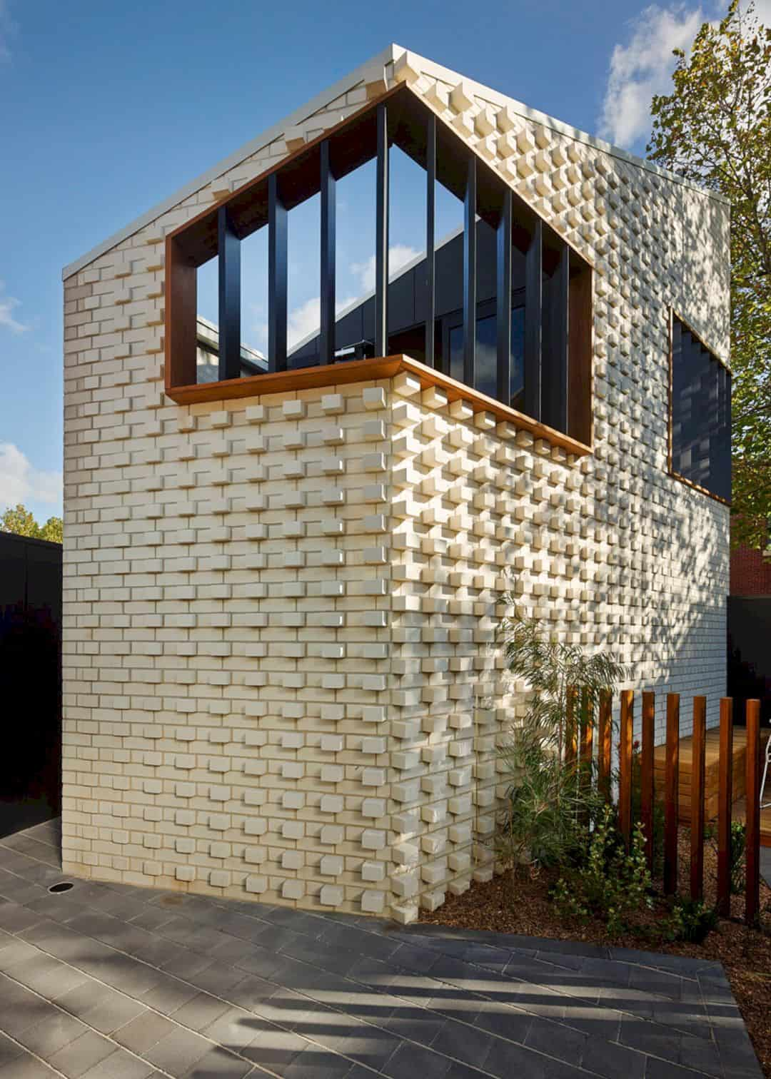 Little Brick Studio A Tight Space Residence That Engages At The Urban Scale Of Abbotsfords Busy Street 18