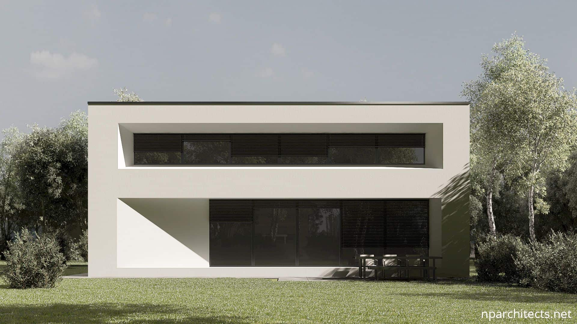 Flat House: A Modern House with A Clean Architecture Design