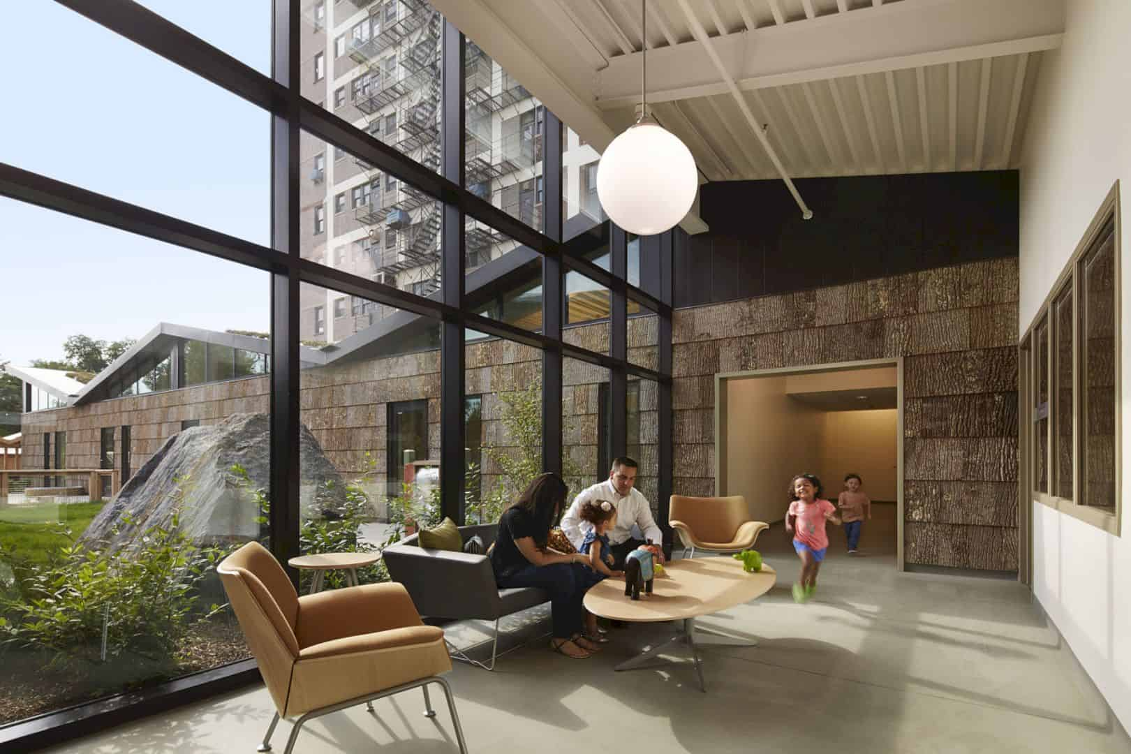 UChicago Child Development Center – Stony Island: A Simple Building Integrated with Natural Environment