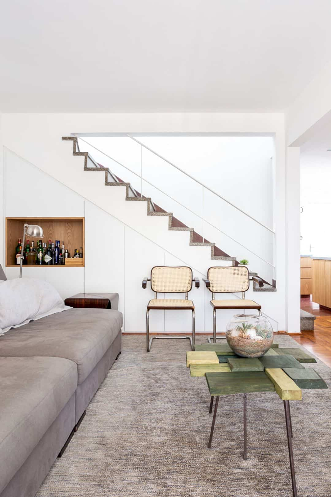 Apartment BF 81: A Two-Floors Residence with Contemporary Interior ...