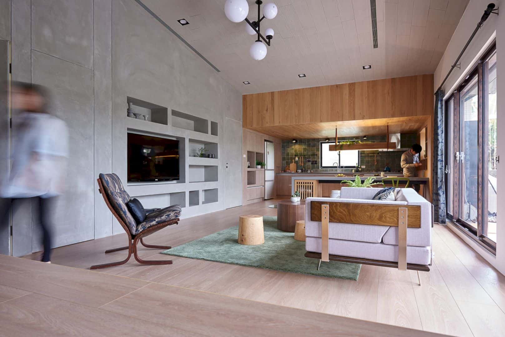 Time Tunnel A Freestanding House With Modern Interior And