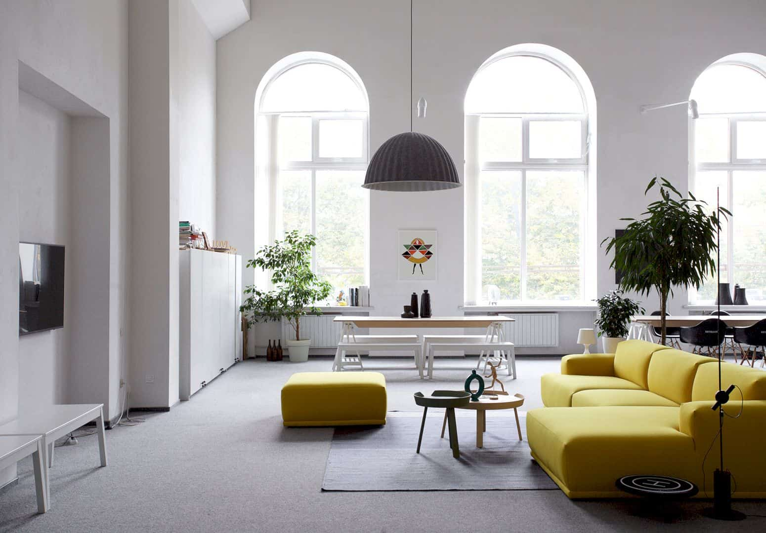 Nott Design Office: An Architectural Studio Office with Modern